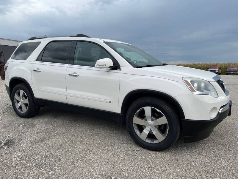 2010 GMC Acadia for sale at Kuhn Enterprises, Inc. in Fort Atkinson IA