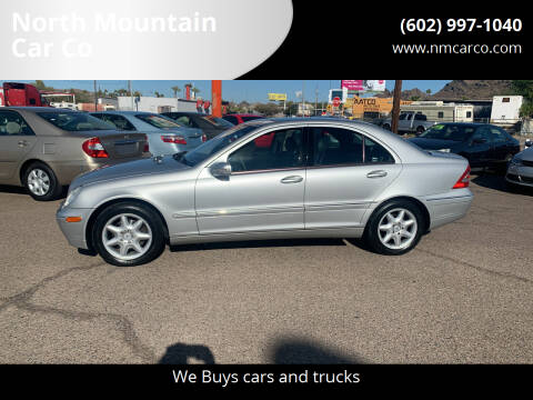 2004 Mercedes-Benz C-Class for sale at North Mountain Car Co in Phoenix AZ