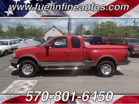 2001 Ford F-150 for sale at FUELIN FINE AUTO SALES INC in Saylorsburg PA