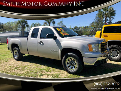 2007 GMC Sierra 1500 for sale at Smith Motor Company INC in Mc Cormick SC
