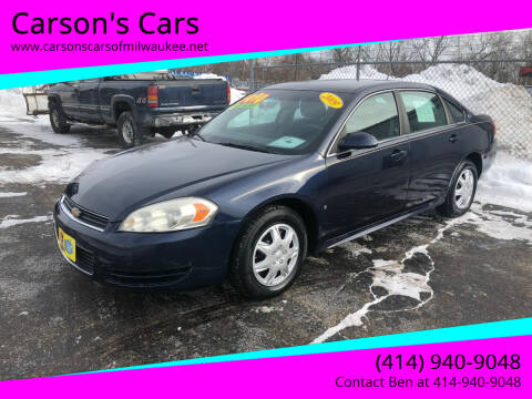 2009 Chevrolet Impala for sale at Carson's Cars in Milwaukee WI