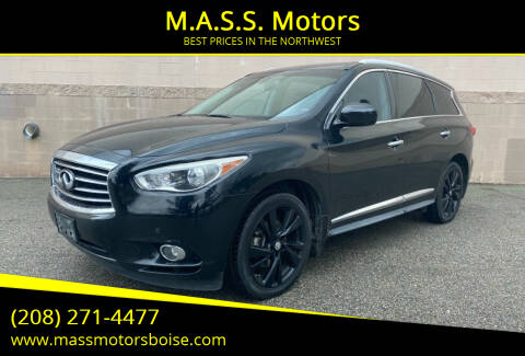 2013 Infiniti JX35 for sale at M.A.S.S. Motors - Emerald in Boise ID
