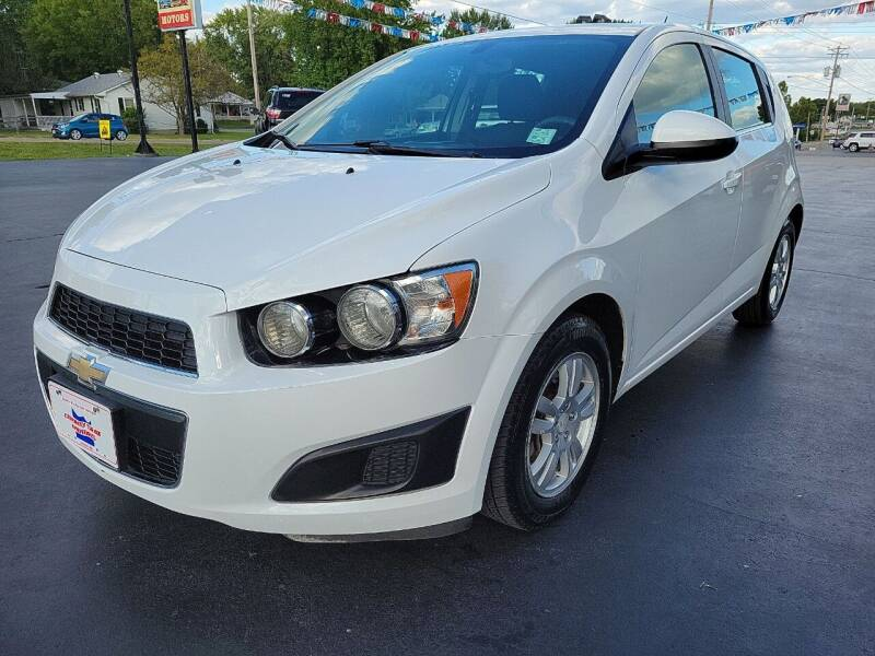 2015 Chevrolet Sonic for sale at County Seat Motors in Union MO