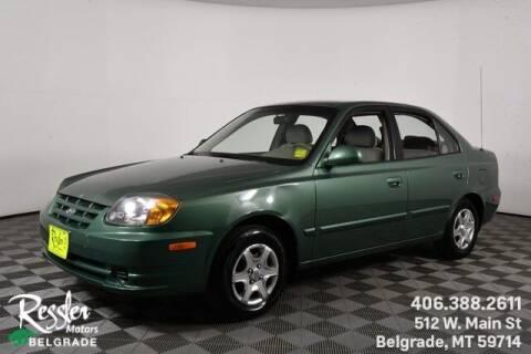 2005 Hyundai Accent for sale at Danhof Motors in Manhattan MT