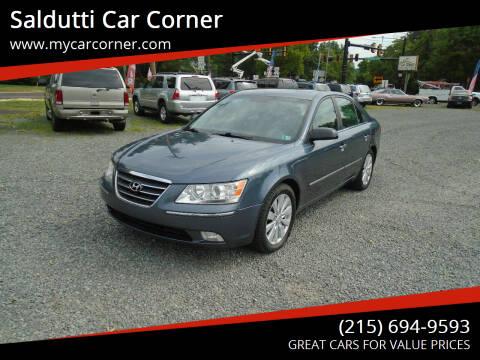 2009 Hyundai Sonata for sale at Saldutti Car Corner in Gilbertsville PA