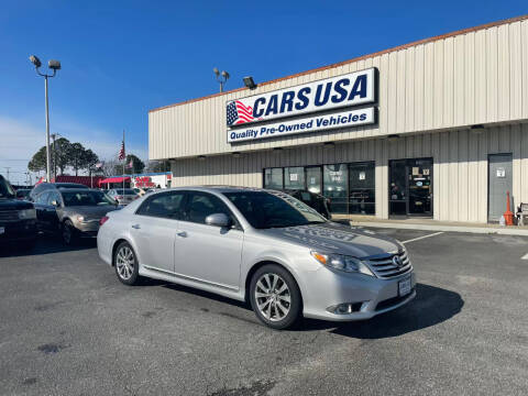 2011 Toyota Avalon for sale at Cars USA in Virginia Beach VA