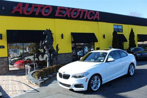 2017 BMW 2 Series for sale at Auto Exotica in Red Bank NJ