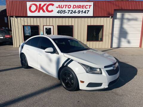 2012 Chevrolet Cruze for sale at OKC Auto Direct in Oklahoma City OK