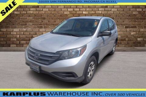 2013 Honda CR-V for sale at Karplus Warehouse in Pacoima CA