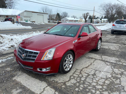2009 Cadillac CTS for sale at US5 Auto Sales in Shippensburg PA