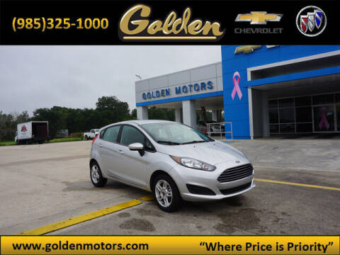 2019 Ford Fiesta for sale at GOLDEN MOTORS in Cut Off LA
