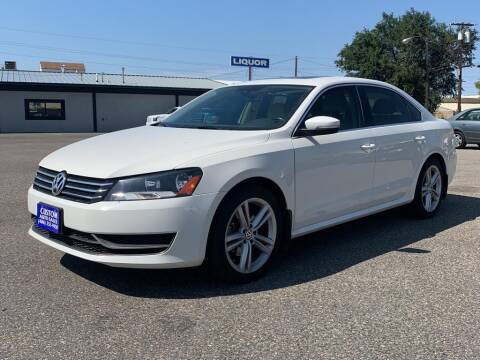 2014 Volkswagen Passat for sale at Billings Auto Finder in Billings MT
