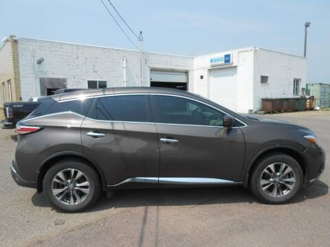 2015 Nissan Murano for sale at Salmon Automotive Inc. in Tracy MN