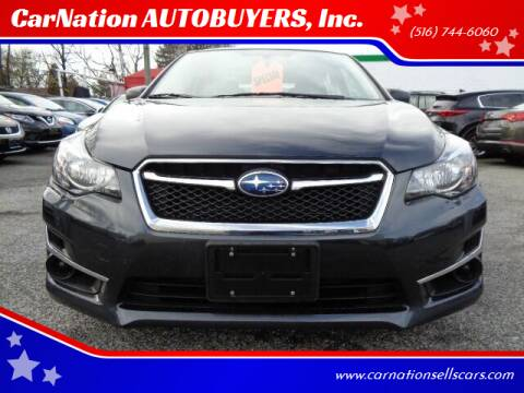 2015 Subaru Impreza for sale at CarNation AUTOBUYERS, Inc. in Rockville Centre NY