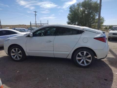 2011 Acura ZDX for sale at PYRAMID MOTORS - Pueblo Lot in Pueblo CO