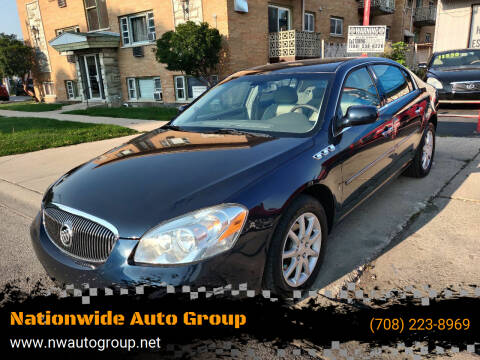 2008 Buick Lucerne for sale at Nationwide Auto Group in Melrose Park IL