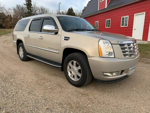 2007 Cadillac Escalade ESV for sale at Toy Barn Motors in New York Mills MN