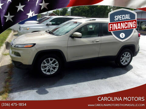 2015 Jeep Cherokee for sale at CAROLINA MOTORS - Carolina Classics & More-Thomasville in Thomasville NC