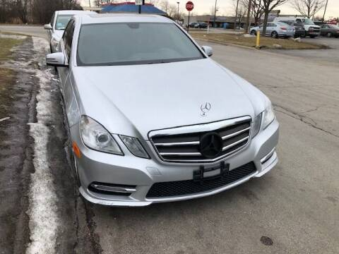 2013 Mercedes-Benz E-Class for sale at NORTH CHICAGO MOTORS INC in North Chicago IL