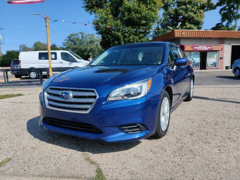 2016 Subaru Legacy for sale at Lamarina Auto Sales in Dearborn Heights MI
