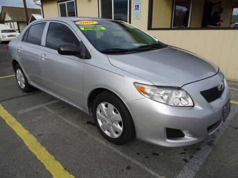 2009 Toyota Corolla for sale at BBL Auto Sales in Yakima WA