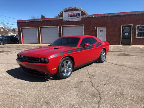 2013 Dodge Challenger for sale at Family Auto Finance OKC LLC in Oklahoma City OK