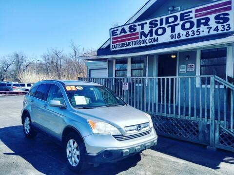 2007 Honda CR-V for sale at EASTSIDE MOTORS in Tulsa OK