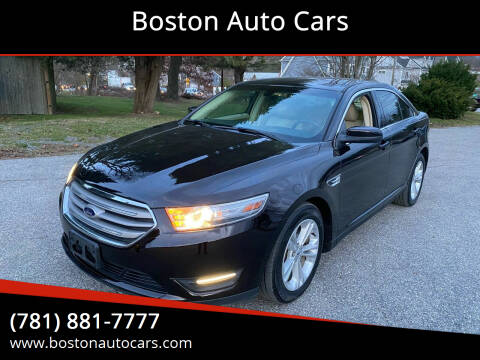 2014 Ford Taurus for sale at Boston Auto Cars in Dedham MA