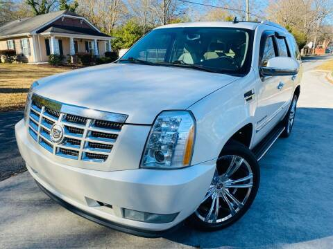 2008 Cadillac Escalade for sale at Cobb Luxury Cars in Marietta GA