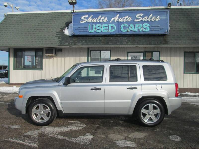 2007 Jeep Patriot for sale at SHULTS AUTO SALES INC. in Crystal Lake IL