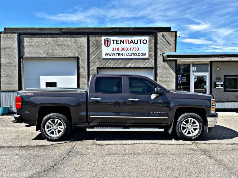 2015 Chevrolet Silverado 1500 for sale at Ten 11 Auto LLC in Dilworth MN