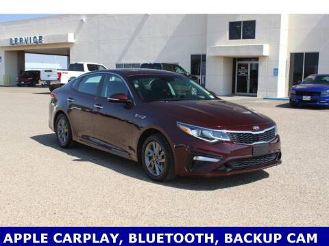 2019 Kia Optima for sale at STANLEY FORD ANDREWS in Andrews TX