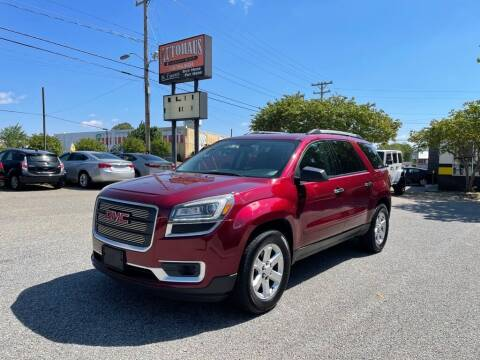 2015 GMC Acadia for sale at Autohaus of Greensboro in Greensboro NC