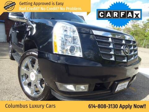 2009 Cadillac Escalade ESV for sale at Columbus Luxury Cars in Columbus OH