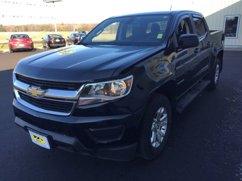 2017 Chevrolet Colorado 4x4 LT 4dr Crew Cab 5 ft. SB - Wisconsin Rapids WI