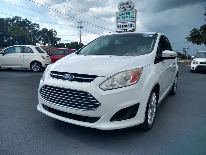 2014 Ford C-MAX Hybrid for sale at BAYSIDE AUTOMALL in Lakeland FL