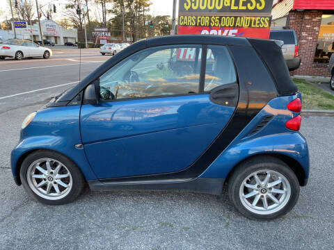 2009 Smart fortwo for sale at HW Auto Wholesale in Norfolk VA