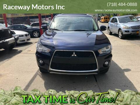 2010 Mitsubishi Outlander for sale at Raceway Motors Inc in Brooklyn NY
