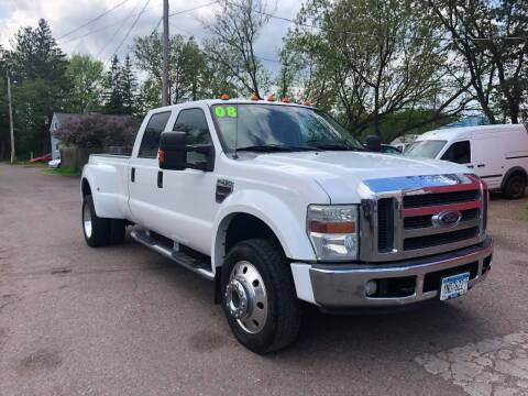 2008 Ford F-450 Super Duty for sale at WB Auto Sales LLC in Barnum MN
