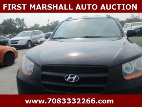 2008 Hyundai Santa Fe for sale at First Marshall Auto Auction in Harvey IL