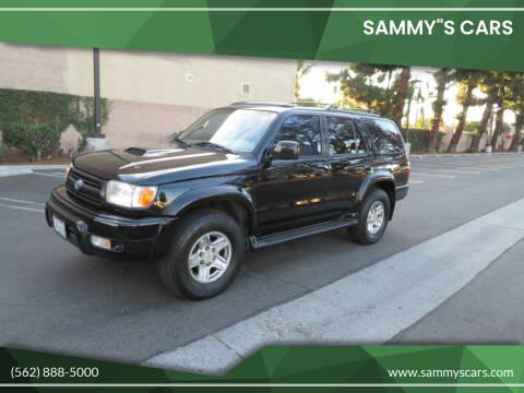 """2000 Toyota 4Runner for sale at SAMMY""""S CARS in Bellflower CA"""