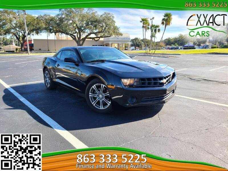 2013 Chevrolet Camaro for sale at Exxact Cars in Lakeland FL