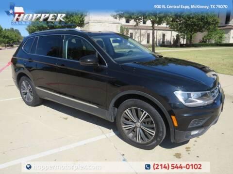 2018 Volkswagen Tiguan for sale at HOPPER MOTORPLEX in Mckinney TX