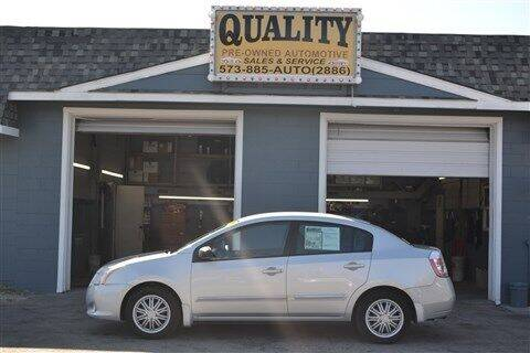 2010 Nissan Sentra for sale at Quality Pre-Owned Automotive in Cuba MO