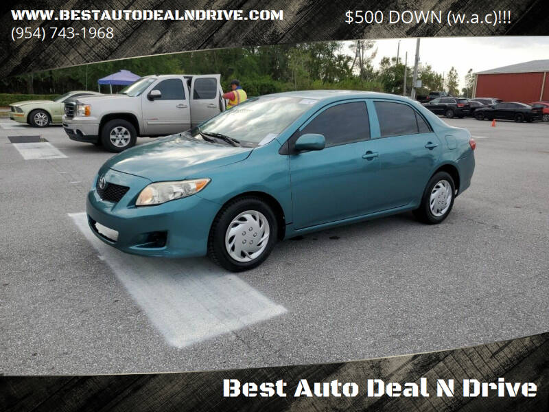 2009 Toyota Corolla for sale at Best Auto Deal N Drive in Hollywood FL