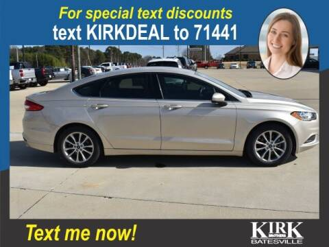 2017 Ford Fusion for sale at Kirk Brothers Batesville in Batesville MS