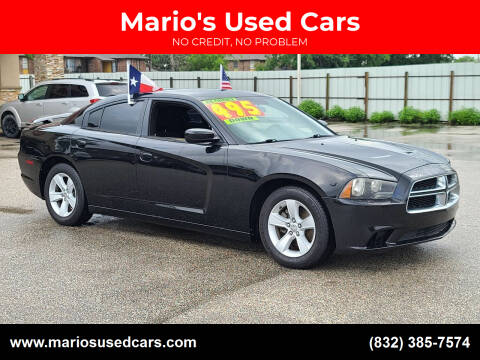 2013 Dodge Charger for sale at Mario's Used Cars - Pasadena Location in Pasadena TX