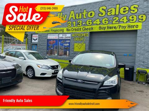 2015 Ford Escape for sale at Friendly Auto Sales in Detroit MI