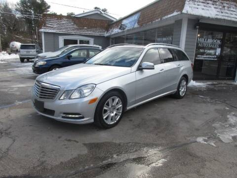 2013 Mercedes-Benz E-Class for sale at Millbrook Auto Sales in Duxbury MA