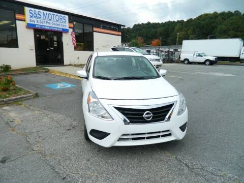 2016 Nissan Versa for sale at S & S Motors in Marietta GA
